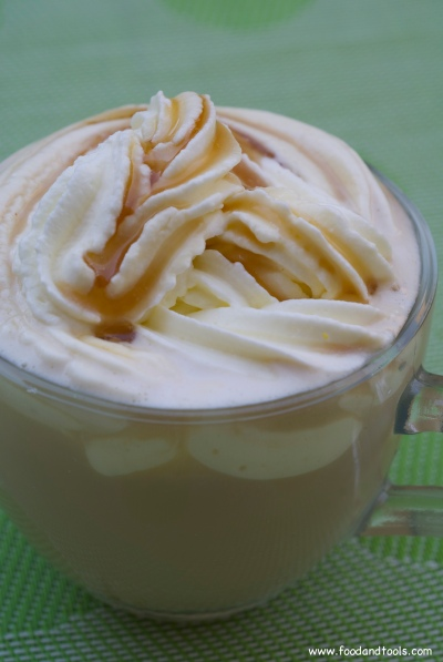 winter spiced latte