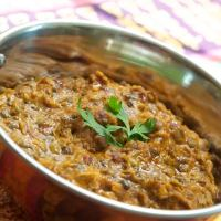dal makhani infused with a smokey flavour