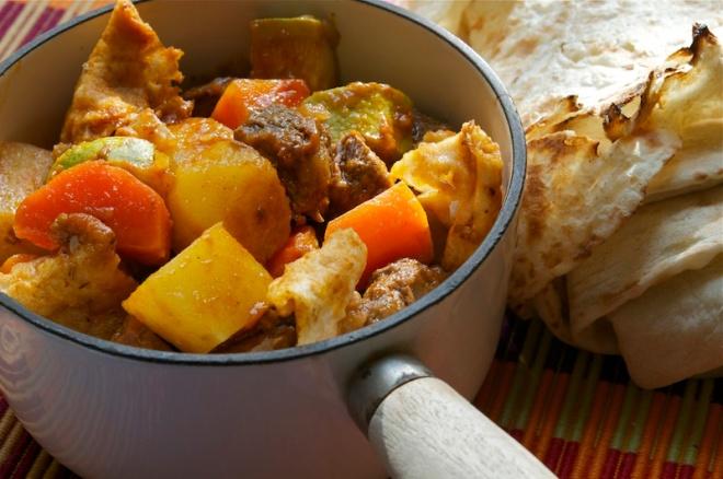 Arabic Lamb Stew - Thareed