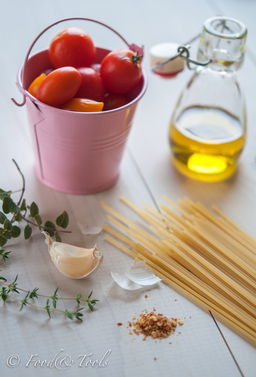 Pasta Ingredients-