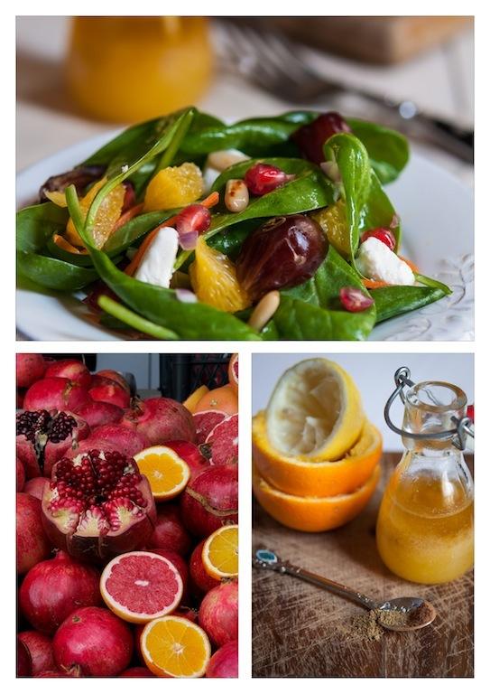 Avoca Salad Collage