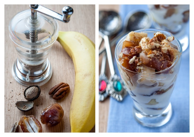 Date and Banana Dessert 2