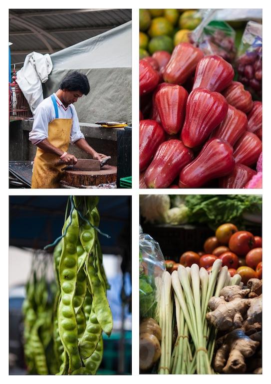 local market thailand