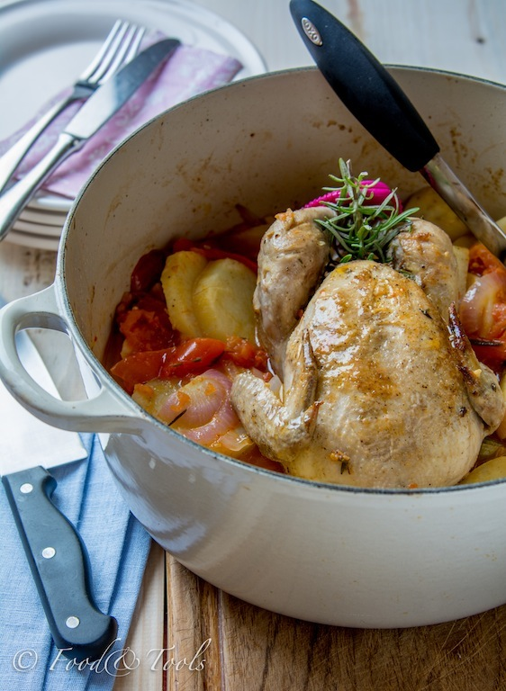 One-Pot Braised Chicken-0688