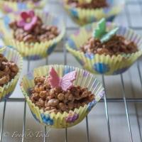 Chewy Rice Krispie Buns