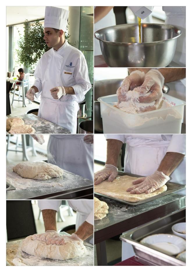 Making Focaccia Dough