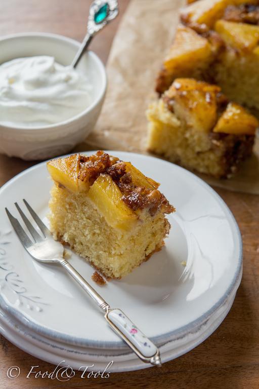Fresh Pineapple Upside Down Cake
