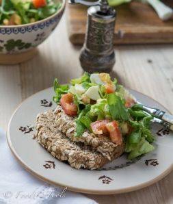 Summer Salad with Brown Bread