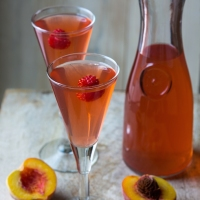 Peach Compote or Kompot A Refreshing Fruit Drink