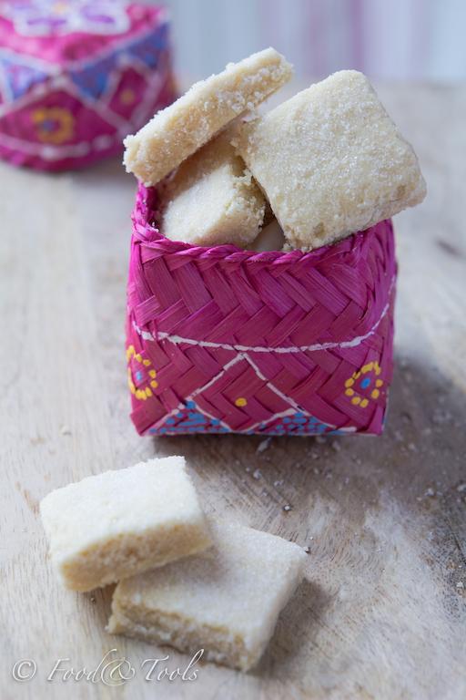 Shortbread sprinkled with Vanilla Sugar