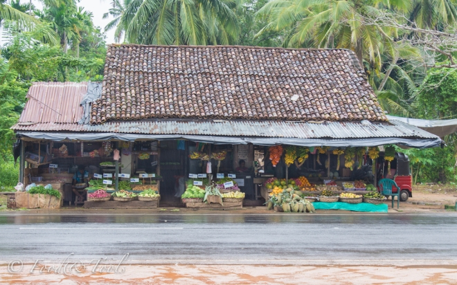 Fruit and Vegetable Stall in Sri Lanka