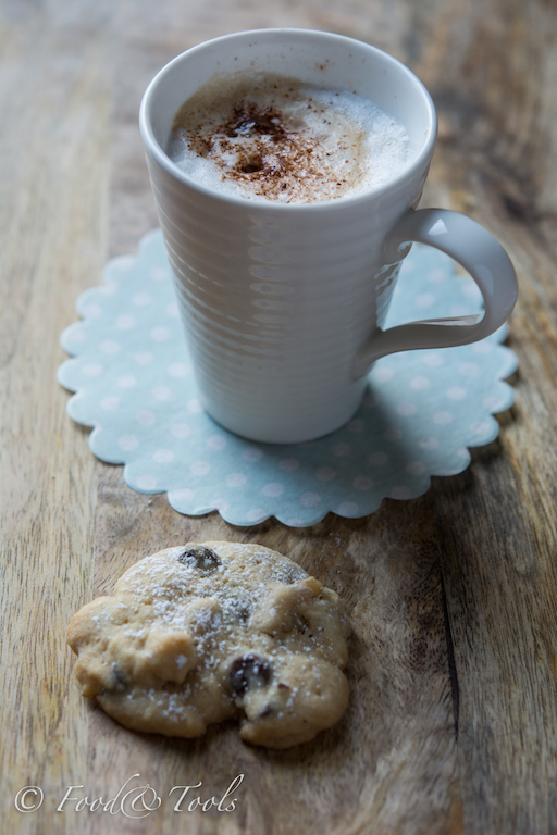 In My Kitchen February 2015 Coffee Mug with Chocolate Chip Cookie