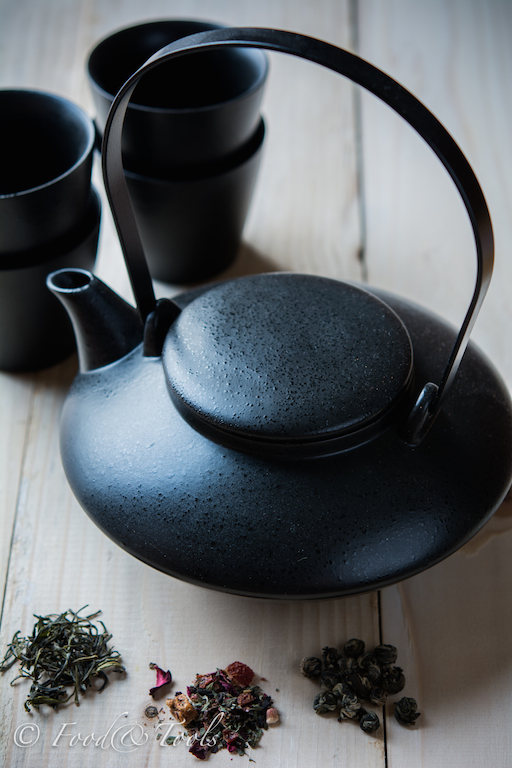 Japanese Tea Pot Cups and Teas