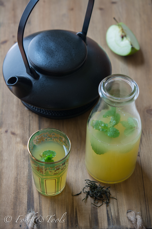 Iced Green Tea_ Fresh Apple Juice_Mint-5373