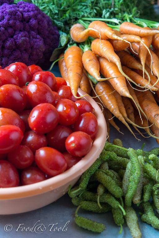 Bahrain Farmers Market Vegetables