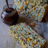 Vegetarian Lentil and Nut Loaf