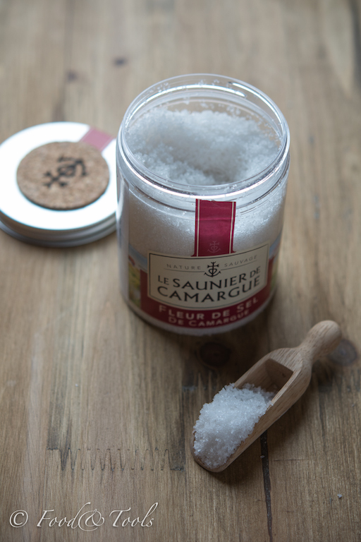Sea Salt with Wooden Scoop