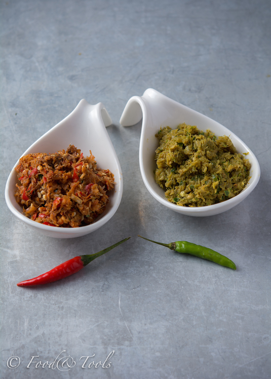 Thai Red and Green Curry Paste