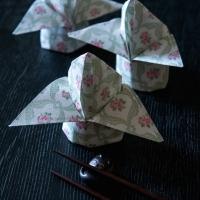Napkin Fold Rose Bud-8230