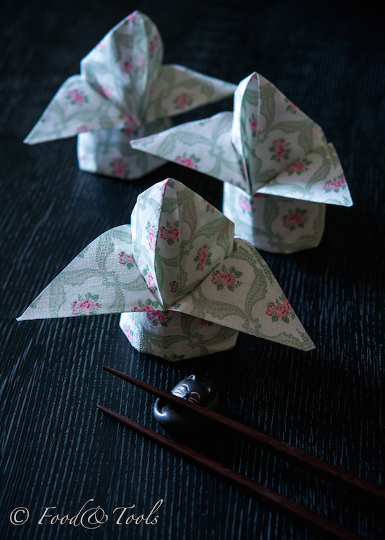 How to fold a paper napkin into a flower bud food and tools napkin fold rose bud 8230 mightylinksfo