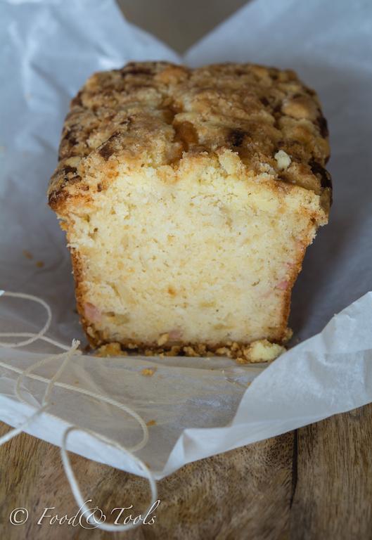 Pear and Amaretto Loaf Cake