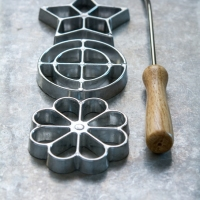 Rosette Iron Cookie Mold