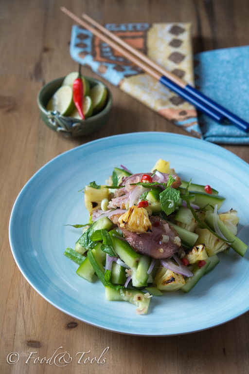 Thai Salad with Duck and Pineapple-7955