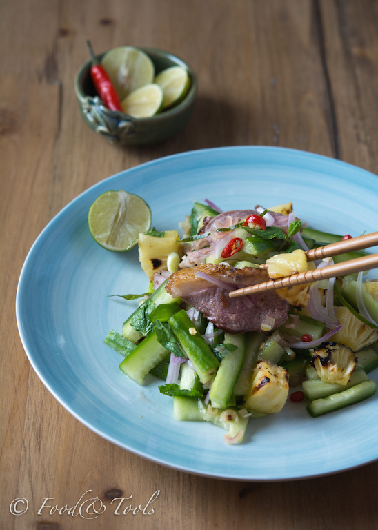 Thai Salad with Duck and Pineapple-7968