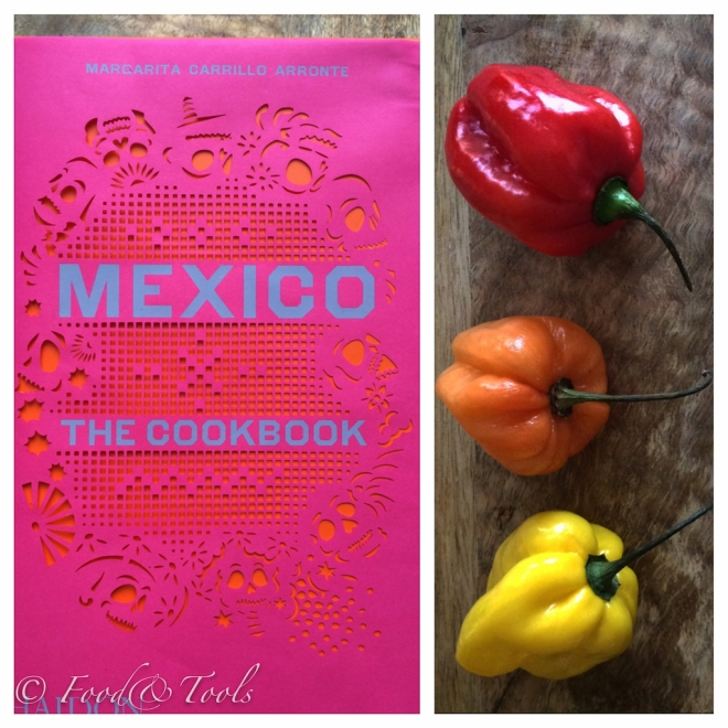 Mexico Cookbook, Habanero Chilies