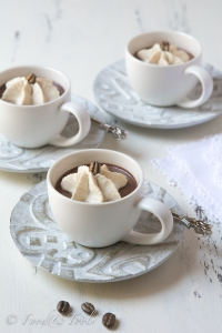 Espresso Cups with Chocolate and Coffee Cream *