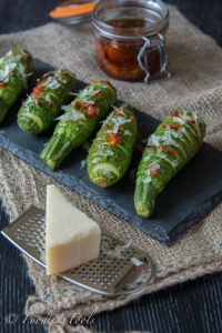 Hassleback Courgettes