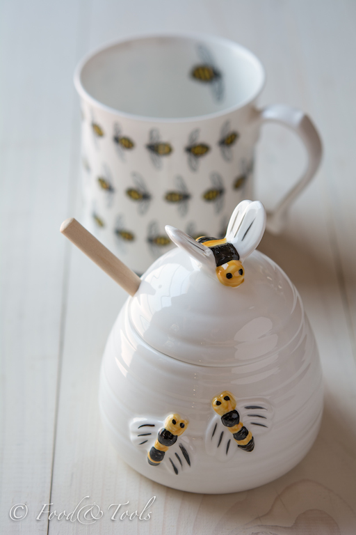 Bee Honey Jar and Bee Mug-2075