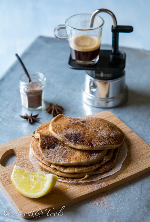 Espress Yoghurt Hotcakes_Star Anise Sugar_Lemon