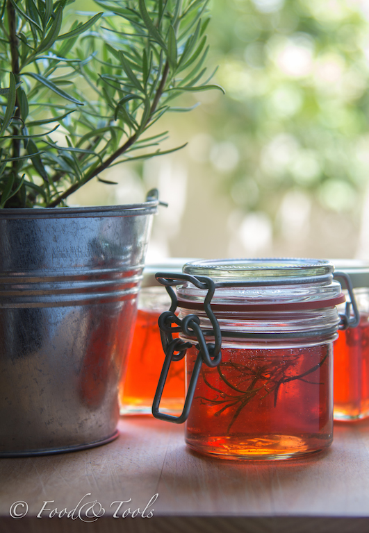 Apple Jelly with Rosemary
