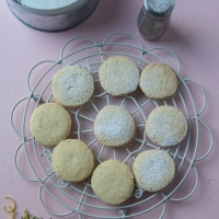 Slice and Bake Fennel and Lemon Shortbread Biscuits
