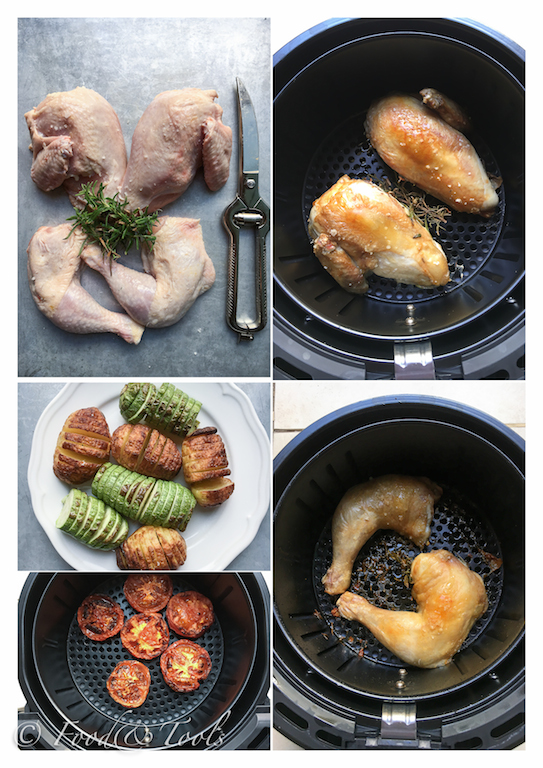 swan-airfryer-roast-chicken_vegetables_tomatoes