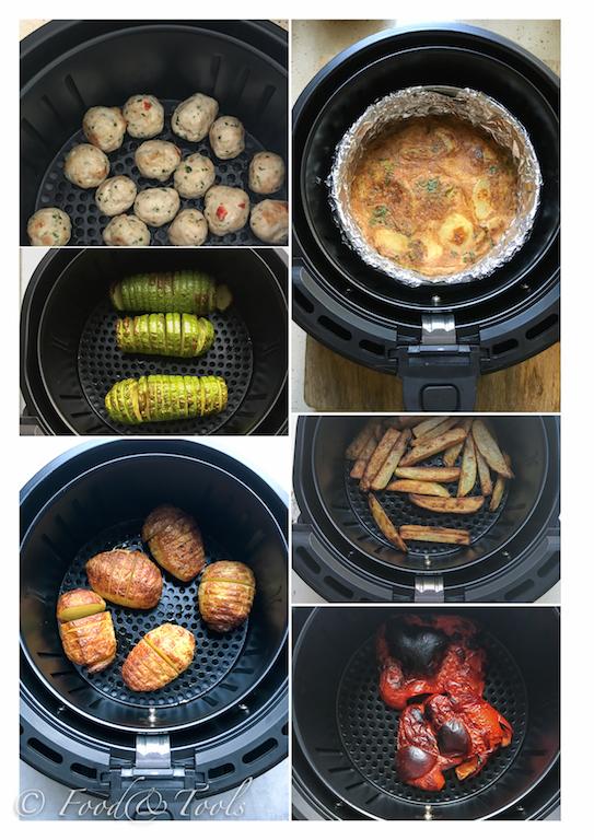 swan-airfryer_thai-chicken_veg_frittata