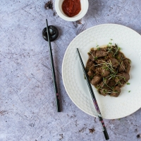 Saikoro Steak | A Cookbook Recipe