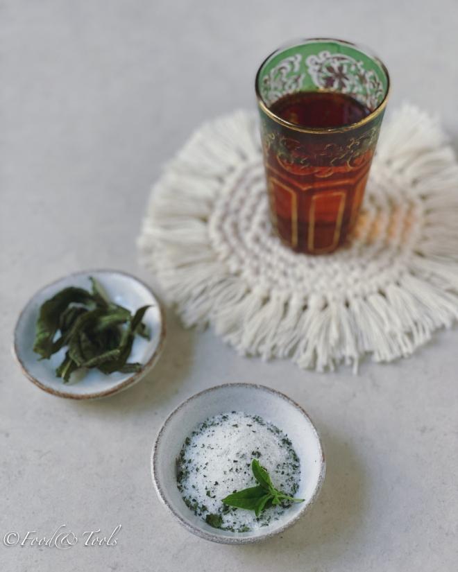 Verbena scented sugar_Dried Verbena Leaf